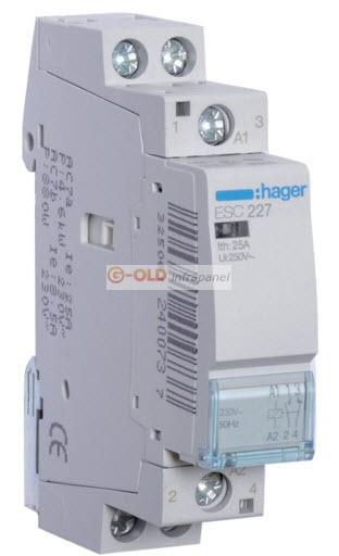 Éjjeli áram átváltó automata 3f-25A