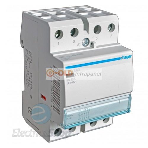 Éjjeli áram átváltó automata 3f-40A