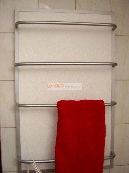 G-OLD-400tsr 400W törölközőszárító termosztáttal