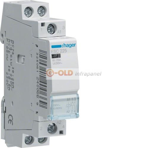 Teljesítménykapcsoló elektronikus 3X20-25A